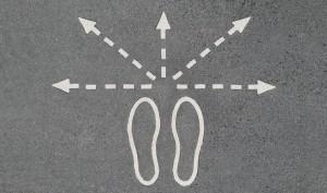 feet many paths