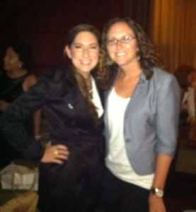 photo with Gina