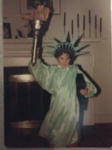 statue of liberty halloween